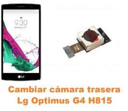 Cambiar cámara trasera Lg Optimus G4 H815