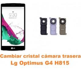 Cambiar cristal cámara trasera Lg Optimus G4 H815