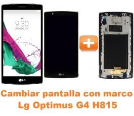 Cambiar pantalla completa con marco Lg Optimus G4 H815