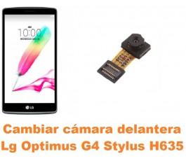 Cambiar cámara delantera Lg Optimus G4 Stylus H635