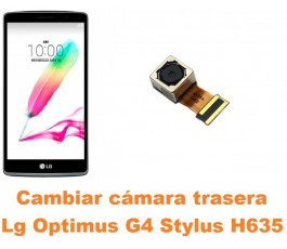 Cambiar cámara trasera Lg Optimus G4 Stylus H635