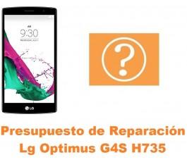 Presupuesto de reparación Lg Optimus G4S H735
