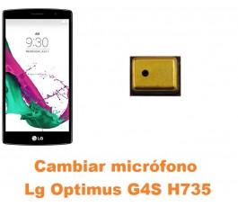 Cambiar micrófono Lg Optimus G4S H735