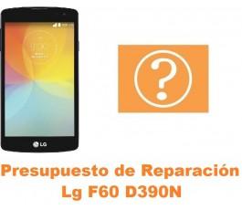 Presupuesto de reparación Lg F60 D390N