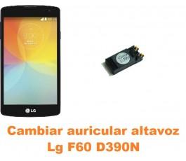 Cambiar auricular altavoz Lg F60 D390N
