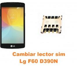Cambiar lector sim Lg F60 D390N