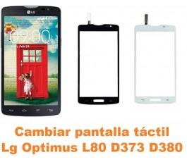 Cambiar pantalla táctil cristal Lg Optimus L80 D373 D380