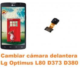 Cambiar cámara delantera Lg Optimus L80 D373 D380