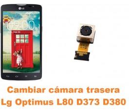 Cambiar cámara trasera Lg Optimus L80 D373 D380