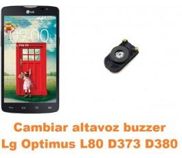 Cambiar altavoz buzzer Lg Optimus L80 D373 D380