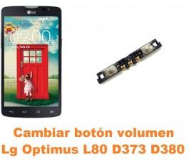 Cambiar botón volumen Lg Optimus L80 D373 D380