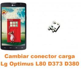 Cambiar conector carga Lg Optimus L80 D373 D380