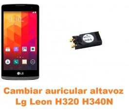 Cambiar auricular altavoz Lg Leon H320 H340N