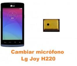 Cambiar micrófono Lg Joy H220