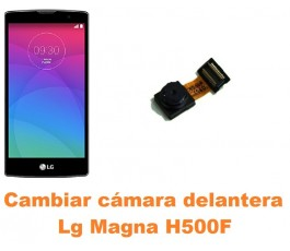 Cambiar cámara delantera Lg Magna H500F