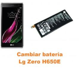 Cambiar batería Lg Zero H650E
