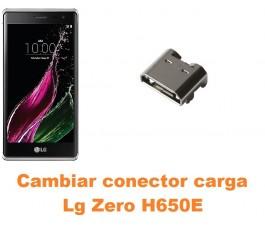 Cambiar conector carga Lg Zero H650E