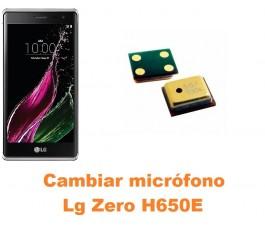 Cambiar micrófono Lg Zero H650E