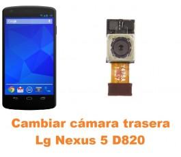 Cambiar cámara trasera Lg Nexus 5 D820