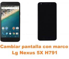 Cambiar pantalla completa con marco Lg Nexus 5X H791