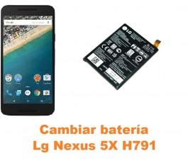 Cambiar batería Lg Nexus 5X H791