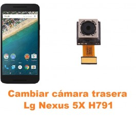Cambiar cámara trasera Lg Nexus 5X H791