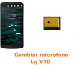 Cambiar micrófono Lg V10