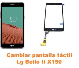 Cambiar pantalla táctil cristal Lg Bello II X150