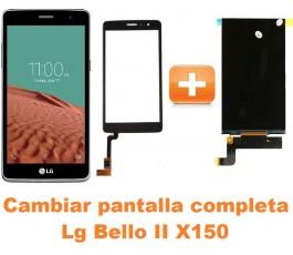 Cambiar pantalla completa Lg Bello II X150