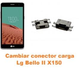 Cambiar conector carga Lg Bello II X150