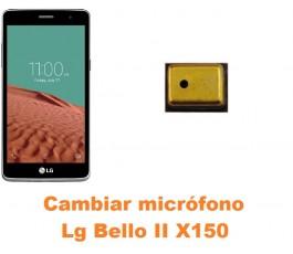 Cambiar micrófono Lg Bello II X150