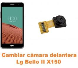 Cambiar cámara delantera Lg Bello II X150
