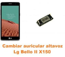 Cambiar auricular altavoz Lg Bello II X150