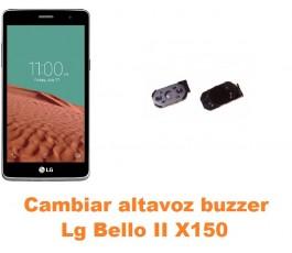 Cambiar altavoz buzzer Lg Bello II X150