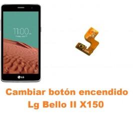 Cambiar botón encendido Lg Bello II X150