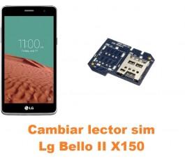 Cambiar lector sim Lg Bello II X150