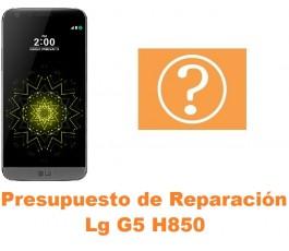 Presupuesto de reparación Lg G5 H850