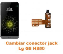 Cambiar conector jack Lg G5 H850