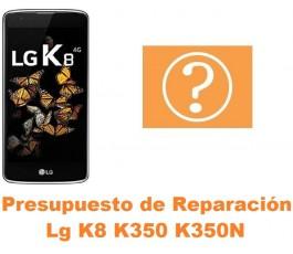 Presupuesto de reparación Lg K8 K350 K350N