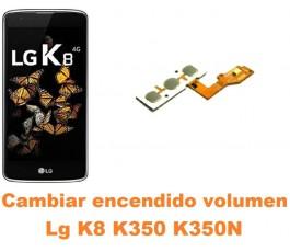 Cambiar encendido y volumen Lg K8 K350 K350N