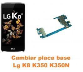 Cambiar placa base Lg K8 K350 K350N