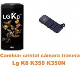 Cambiar cristal cámara trasera Lg K8 K350 K350N