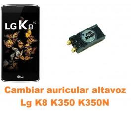Cambiar auricular altavoz Lg K8 K350 K350N