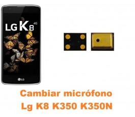 Cambiar micrófono Lg K8 K350 K350N