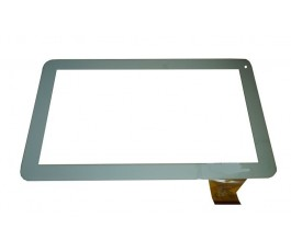 Pantalla táctil DH-0901A1-FPC10 para Szenio Tablet PC 2016DC blanco