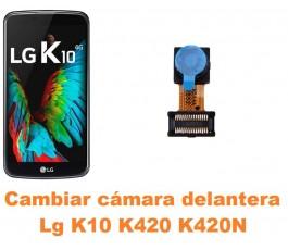 Cambiar cámara delantera Lg K10 K420 K420N