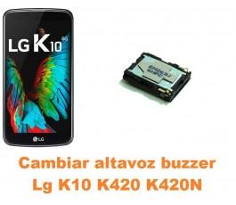 Cambiar altavoz buzzer Lg K10 K420 K420N