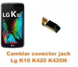 Cambiar conector jack Lg K10 K420 K420N