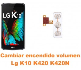 Cambiar encendido y volumen Lg K10 K420 K420N