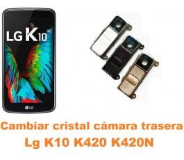 Cambiar cristal cámara trasera Lg K10 K420 K420N